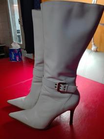 Botas Blancas Mujer
