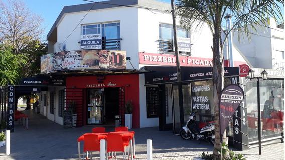 Fondo De Comercio Pizzeria En Alquiler
