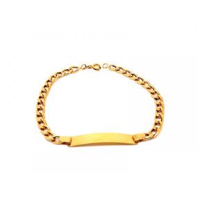 Pulseira Groumet Em Ouro 18k - Ov/11375