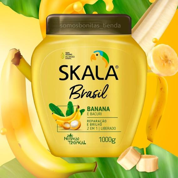 Crema Skala Brasilera | Método Curly | Veganas - Envios