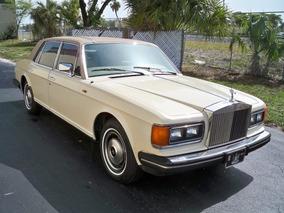 Rolls Royce Mod Silver Spur Ano 1984