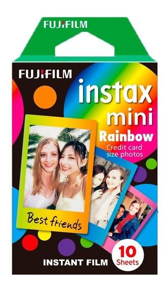 Fujifilm Cartucho Fuji Instax Mini Rainbow Con 10 Hojas