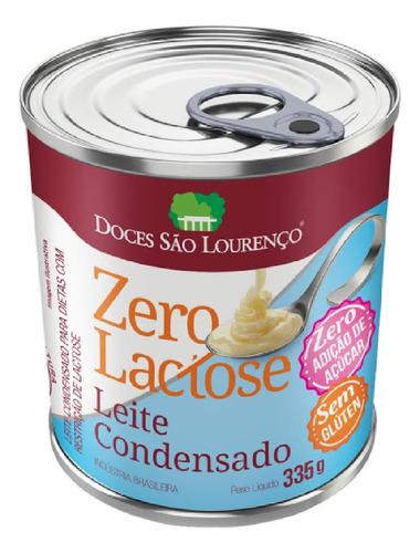 Imagem 1 de 1 de Leite Condensado Zero Lactose Zero Açucar S. Lourenço 335g