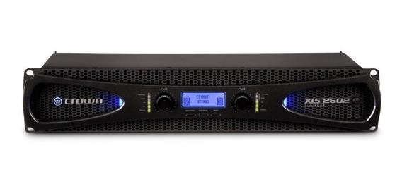 Amplificador Potência Crown Xls 2502 2400 Watts 2 Ohms 220v