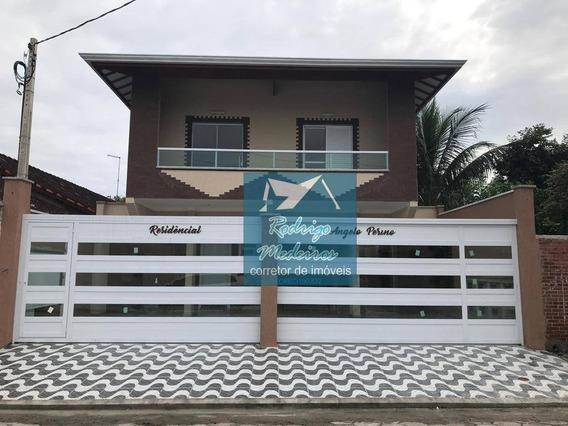 Sobrado Com 3 Dormitórios À Venda, 68 M² Por R$ 259.000 - Balneário Maracanã - Praia Grande/sp - So0019