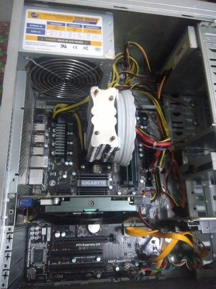 Cpu Gamer,placa Mãe Gigabyte Ga970a-d3p,fx 8320, 16 Gb