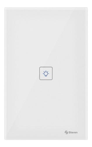 Imagen 1 de 5 de Apagador Interruptor Wifi Pared Botón Touch Alexa Google