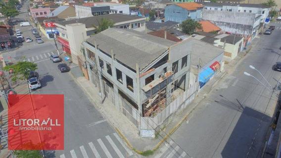 Galpão Para Alugar, 310 M² Por R$ 10.000/mês - Jardim Belas Artes - Itanhaém/sp - Ga0009