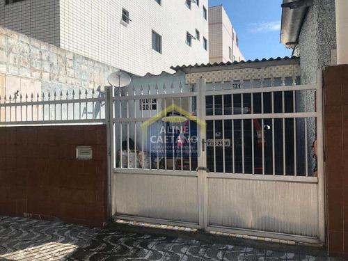 Casa Com 2 Dorms, Ocian, Praia Grande - R$ 290 Mil, Cod: Act1376 - Vact1376