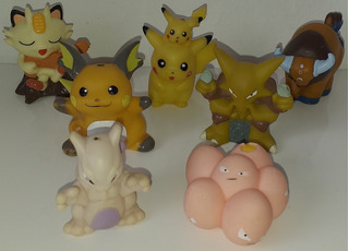 Pokemon Original Bandai Coleccion Muñeco Anime Figura 96/99
