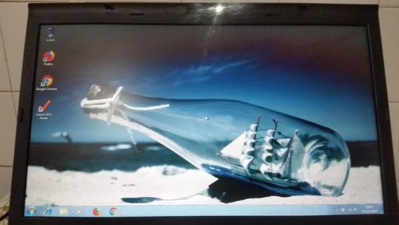 Notebook Lenovo Thinkpad T510 I5 Mem: 3gb Hd: 160gb