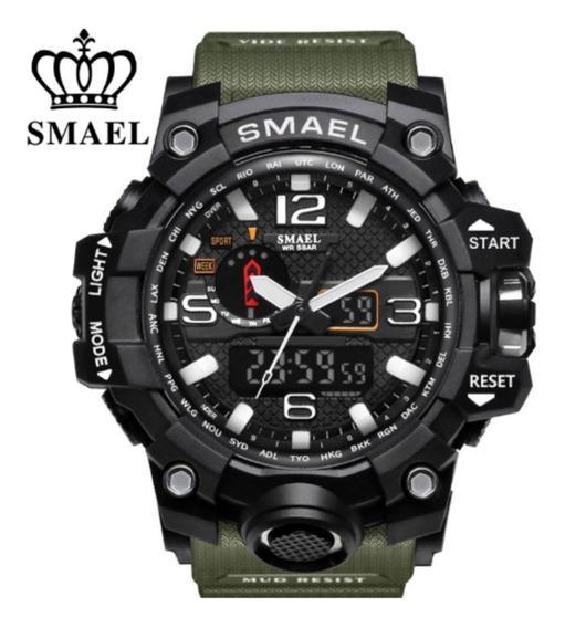 Relógio Smael Tático G-shock Militar Prova D