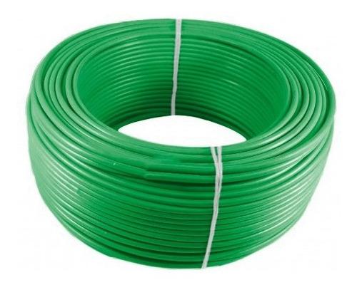 Imagen 1 de 1 de Alambre O Cable Rígido N12'' Verde X 100 Metros Procables