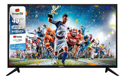 Televisor Led Smart Tv Smarttv Enxuta 43 Uhd 4k - Hostore.uy