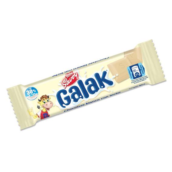 Chocolate Blanco Savoy Galak 30gr 1 Display X 12 T