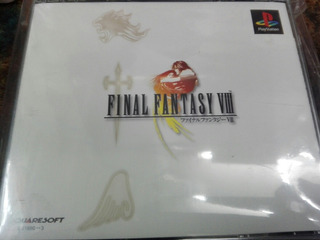 Juego Final Fantasy Viii Playstation 1 Original Japones
