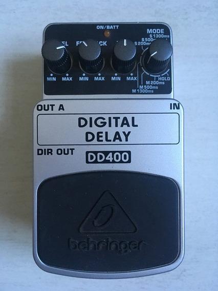 Pedal Behringer Digital Delay Dd-400