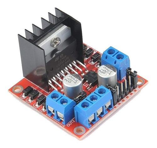 Modulo L298 Puente H Controlador De Motores Arduino Pic Etc