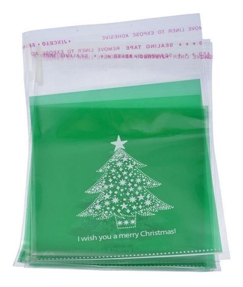 40 Bolsas Decorativas, Navidad, Galletas, Dulces, Variadas