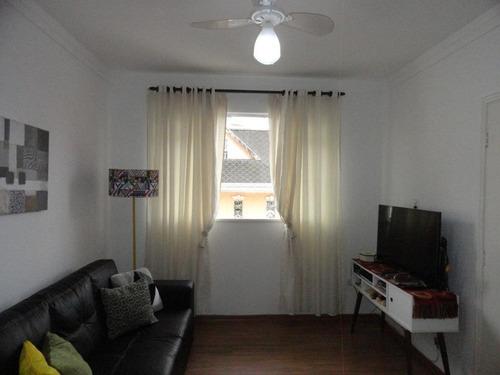 Apartamento À Venda, 46 M² Por R$ 270.000,00 - Marapé - Santos/sp - Ap5205
