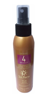 Spray Bronceador Sol Pleno 4 Bronze Verano