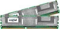 Memoria Ram 4gb Crucial Kit (2gbx2) Ddr2 667mhz (pc2-5300) Cl5 Fully Buffered Ecc 240pin- Fbdimm - Ct2kit25672af667 / Ct