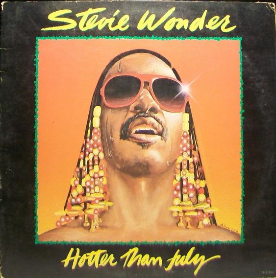 Stevie Wonder - Hotter Than July Disco Vinilo Lp Usa