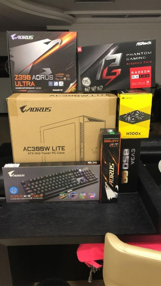 Pc Gamer Aorus Z390 Ultra+i7-8700+16gb Ddr4+rx580 8gb