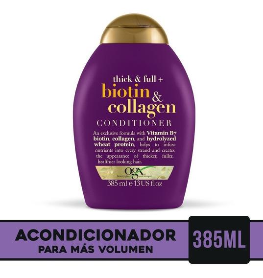 Ogx Biotin Collagen Acondicionador 385 Ml