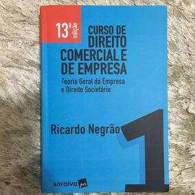 Curso De Direito Comercial E De Empresa 1 - Ricardo Negrão