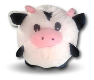 Vaca De Peluche Bolita De 20 Cms