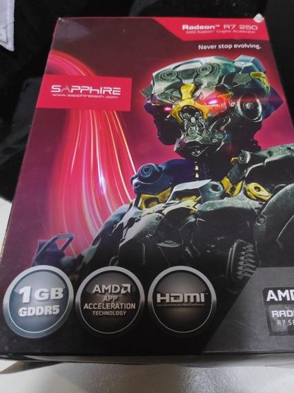Placa De Vídeo Radeon R7 250 1gb - *no Estado*