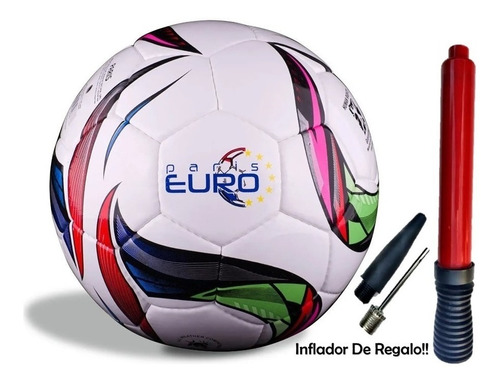 Imagen 1 de 10 de Pelota Futbol Profesional Jr Tamaño Oficial N°4 Euro Paris