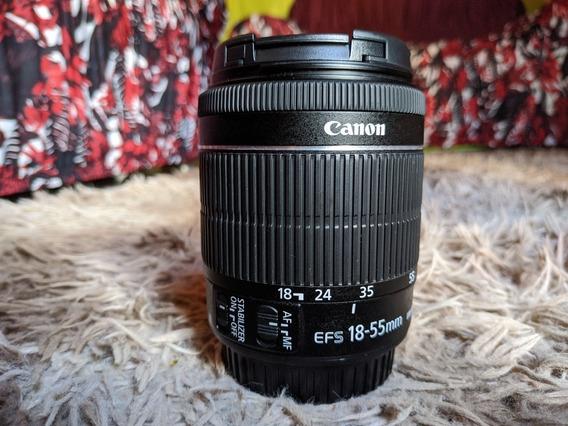 Lente Canon Ef-s 18-55mm F / 4-5.6 Is Stm