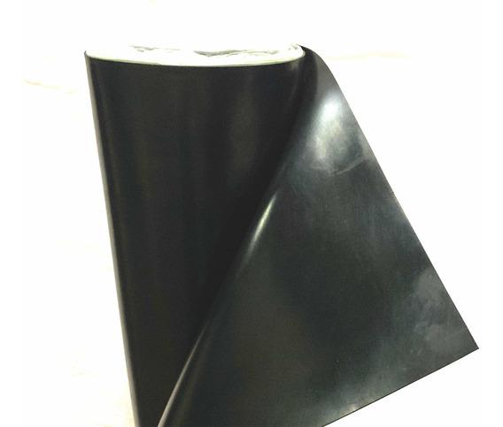Hule Rollo Neopreno Sbr Negro 1/4 De Espesor Rollo 1m X 10 M