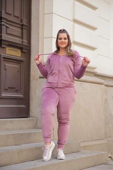 Conjunto Moleton Feminino - Plus Size - Pronta Entrega