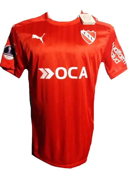 Camiseta De Independiente 2017 Parche Sudamericana Campeon
