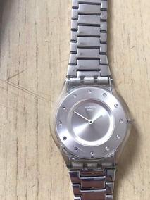 Relógio Feminino Swatch Modelo Sfk393g Impecável