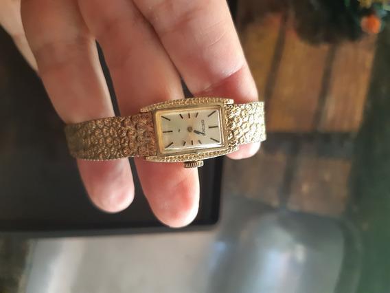 Relógio Feminino Seiko A Corda Antigo Dourado