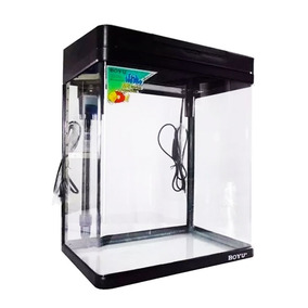 Aquario Completo Boyu Montado C/ Led Ms-520 - 45 Litros