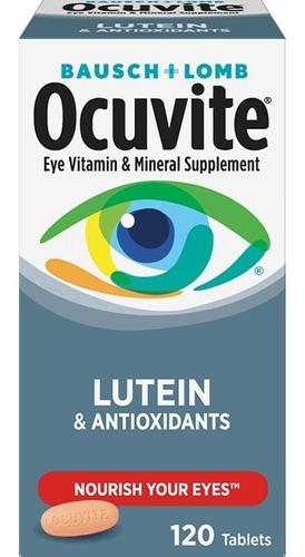 Ocuvite Com Lutein E Antioxidantes Bausch+lomb 120 Tabletes