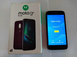 Smartphone Moto G4play Xt1603 16gb 2gb Ram Tela 5