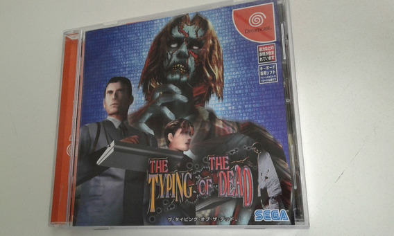 Jogo Dreamcast The Typing Of The Dead Original C/ Spine Card