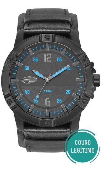 Relógio Mormaii Masculino Mare Mo2036ir/2a Preto Bracelete