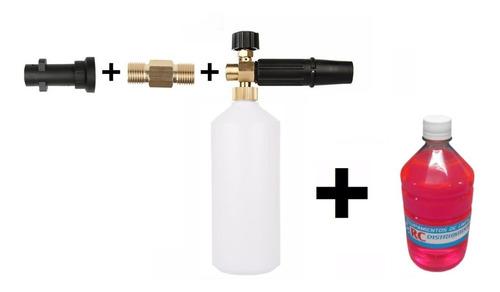 Foam Lance Profesional Hidrolavadora Karcher K + Shampoo Espuma Activa X 1lt