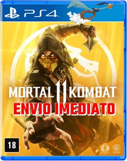 Mortal Kombat 11 Mk11 Ps4 Digital Original 1 Português