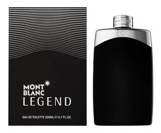 Mont Blanc Legend Men By Mont Blanc 200 Ml Envio Gratis Msi