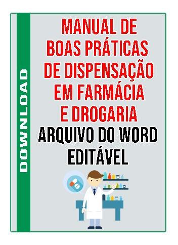 Manual De Boas Praticas E Dispensação Em Farmácia E Drogaria