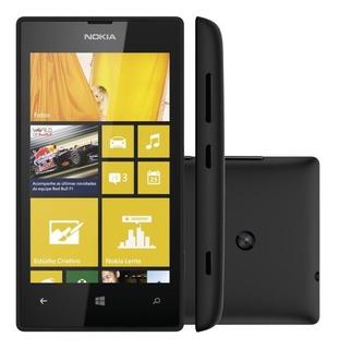 Celular Smartphone Dual Core 3g 5mp 8gb Nokia 520
