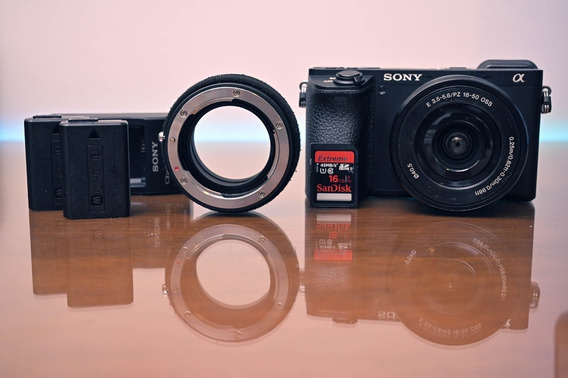 Kit Sony A6500 + 16-50mm